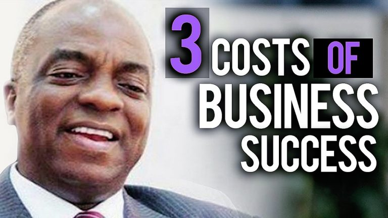 Read more about the article 3 fundamental costs of business success (Complete) by David Oyedepo (MUST WATCH FOR ENTREPRENEURS!!!)