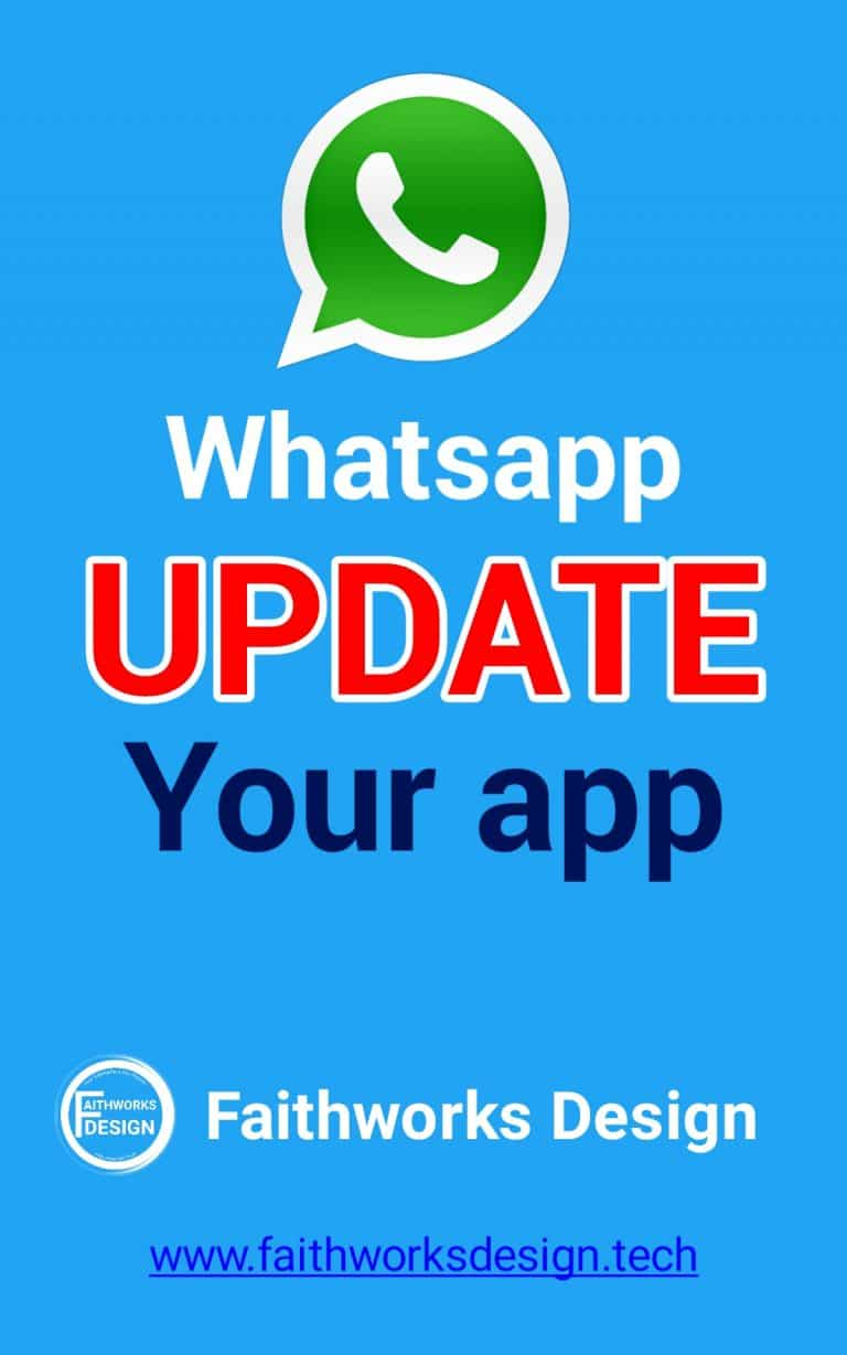 Read more about the article Learn how to update your Whatsapp app